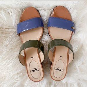 Fendi Wedge Sandals